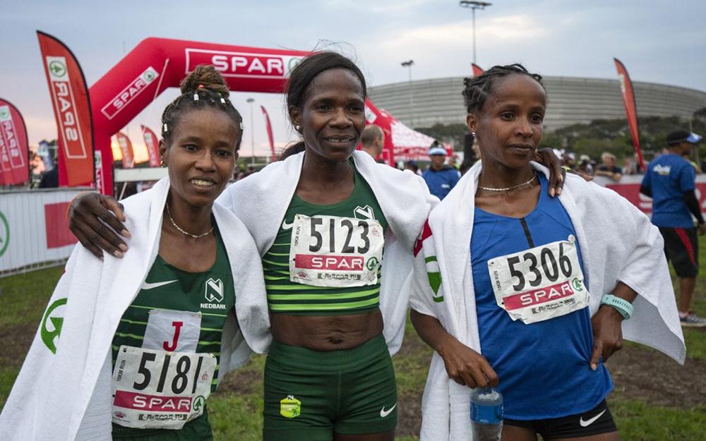 Record Time For Spar 10km Winner